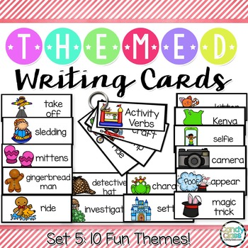 Writing Cards Mega Bundle - Over 1,500 Words Covering 100 Themes