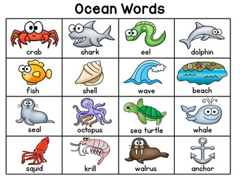 Themed Writing Charts (23 fun word charts for your writing center)