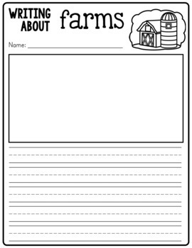 Themed Writing Pages - Expository Writing