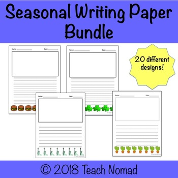 Seasonal Writing Paper Bundle
