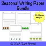 Seasonal Writing Paper Bundle