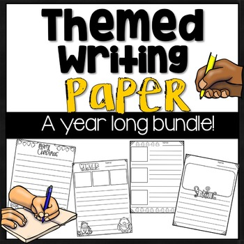 Themed Writing Paper Templates