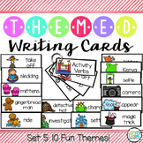 Writing Card Set #5 (Gingerbread Man, Magic Show, Winter,