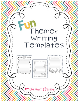 Themed Writing Templates/Paper