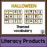 Themed vocabulary - Halloween