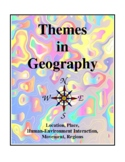 Themes In Geography, Activities and Worksheets