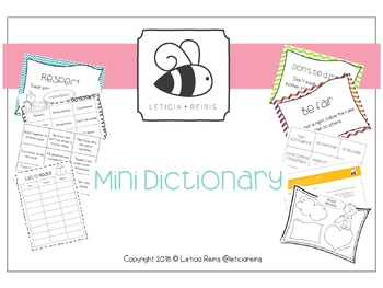 Themes Mini Dictionary
