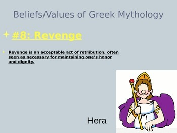 Themes and Beliefs in Greek Mythology