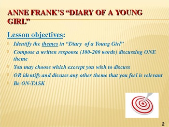 theme of anne frank