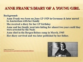 Themes in Anne Frank's Diary of a Young Girl