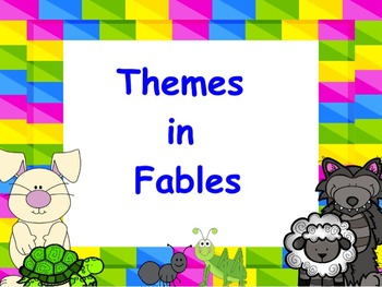 Themes in Fables: PowerPoint and Worksheets