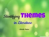 Themes in Literature Differentiated  Organizers Grades 4-12