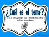 Themes in Literature Posters in Spanish