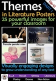 Theme Posters - Themes in Literature Posters - pack 1