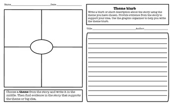 Themes in Literature-Supporting Reading Comprehension and Writing Skills