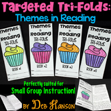 Themes in Reading: Four Targeted Tri-folds | PDF and Digit