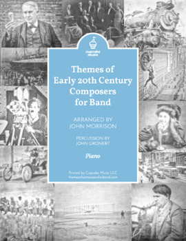 Themes of Early 20th Century Composers Piano Score