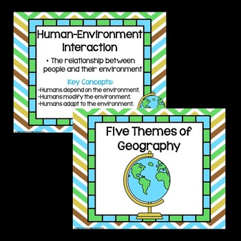 Themes of Geography Poster Set