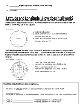 Themes of Geography PowerPoint Notes Student Handout (File 2 of 2)