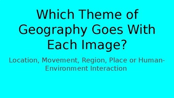 Themes of Geography Practice