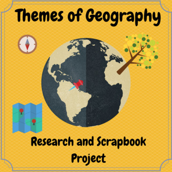 Themes of Geography Scrapbook Project
