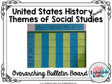 Themes of Social Studies (US History) Overarching Bulletin Board