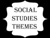 Themes of Social Studies posters FREE