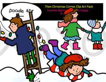 Then Comes Christmas Clip Art Pack