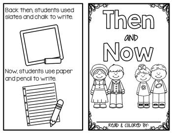 Then & Now Lesson