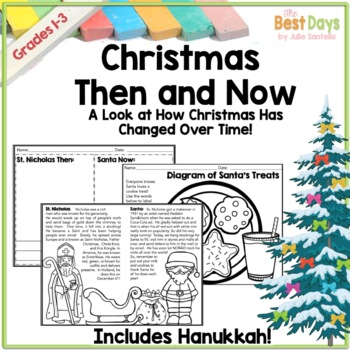 Then and Now Social Studies:  Christmas/Holiday Edition