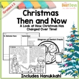 Then and Now Social Studies :  Christmas Holiday Edition