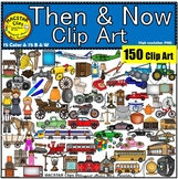 Then and Now ClipArt