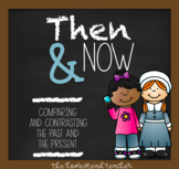 Thanksgiving Then and Now {Compare and Contrast Long Ago a