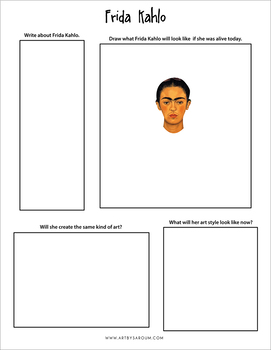 Then and Now No Prep Art Activities Freebie