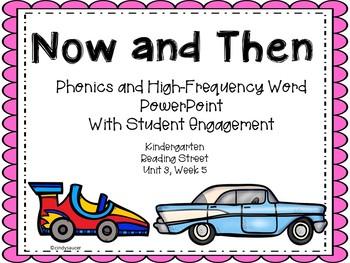 Then and Now, PowerPoint, Kindergarten, Unit 3, Week 5