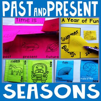 Seasons Past Present Interactive Notebook