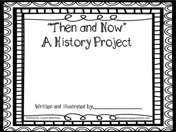 Then and Now Social Studies History Unit