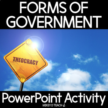 Theocracy PowerPoint for Government