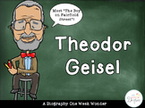 Theodor Geisel: A One Week Wonder