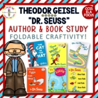 Dr. Seuss!  Author/Book Study {Theodor Geisel} LAP BOOK AC