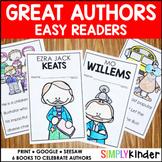 Author Study Easy Readers | Seuss | Ezra Jack Keats | Mo Willems