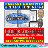 Theodor Seuss Geisel Passage and Questions: Interactive No