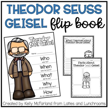 Theodor Seuss Geisel {Flip Book and Printables}