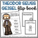 Theodor Seuss Geisel {Flip Book and Printables}