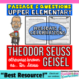 Theodor Seuss Geisel: Otherwise Known as Dr. Seuss: Passage and Questions