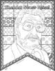 "Theodor Seuss Geisel: ""Pattern Portrait"": Theodor Seuss Geisel Writing Activity"