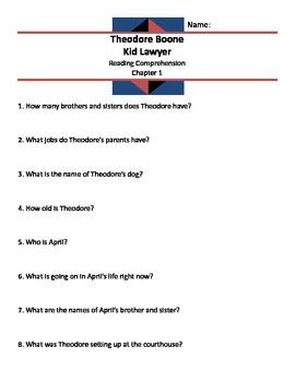 Theodore Boone Kid Lawyer