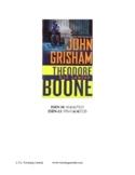 Theodore Boone - Kid Lawyer