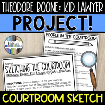 Theodore Boone: Kid Lawyer - Sketching the Courtroom Project