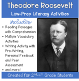 Theodore Roosevelt; A Social Studies Packet with Literacy Activities